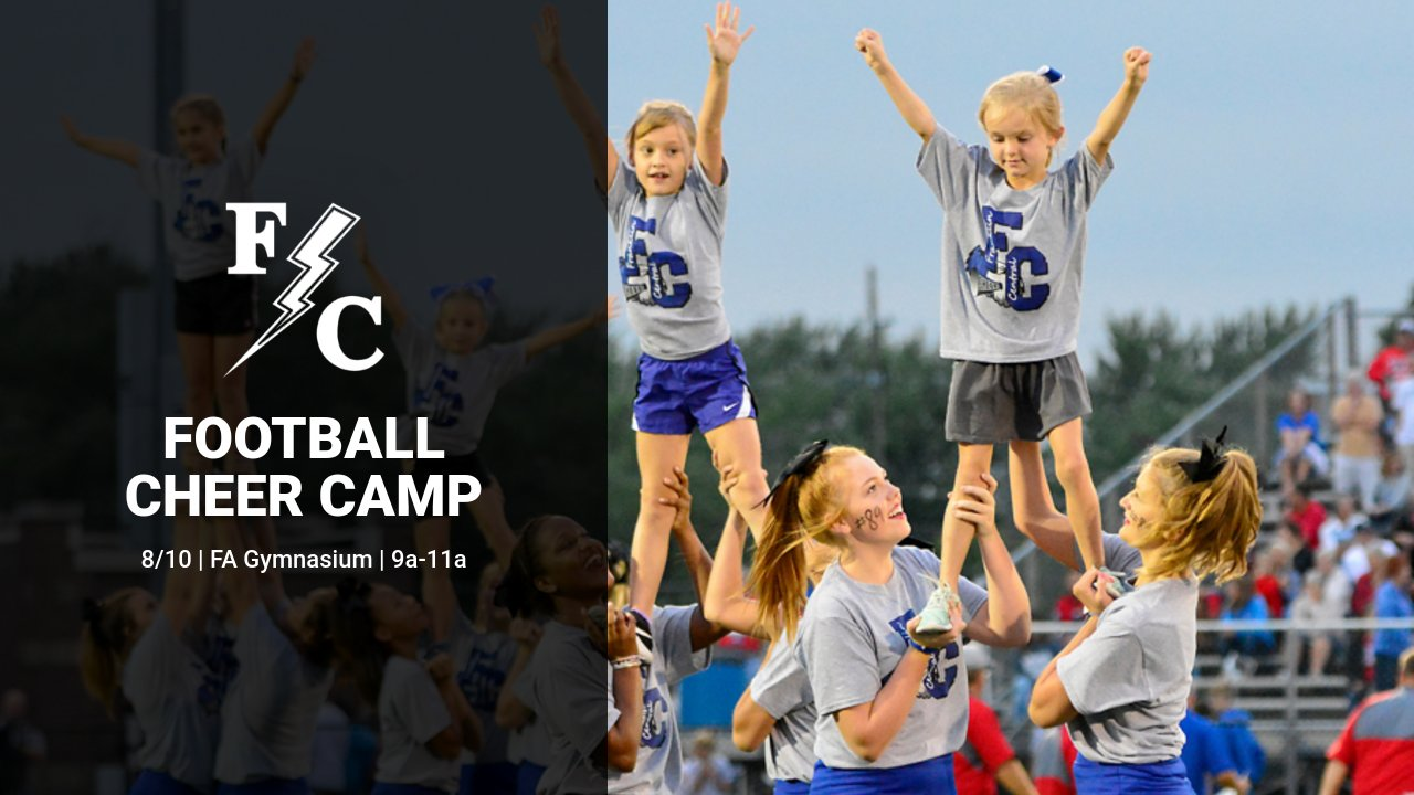 Fall Football Cheer Camp – August 10