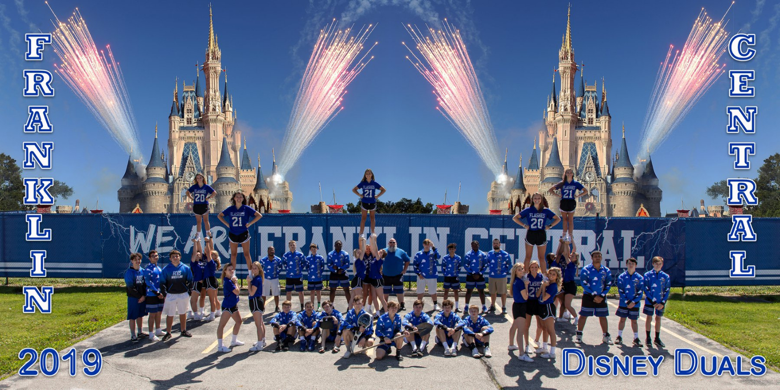 Flashes Wrestling Runner-up Finish at Disney Duals 2019 (photos included)