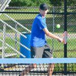 Boys Varsity Tennis captures first victory 5-0
