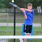 Flashes Boys Varsity Tennis edges out Lawrence Central 3-2