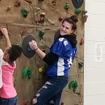Flashes Unified Football Athletes Volunteer at Kitley Elementary
