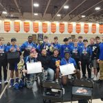 Boys Varsity Wrestling finishes 2nd place at Capital City Classic