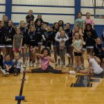 Franklin Central Cheerleaders Held Cheer Clinic on Dec. 7th