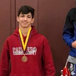 Congratulations to Wrestler Blake VanLaar for Placing in Tough Riverside County Tournament