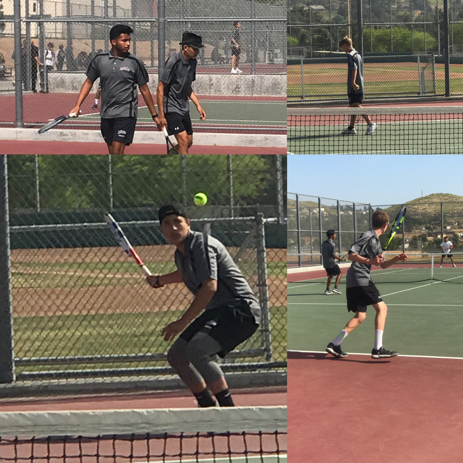 PHS boy's tennis topple Coachella Valley in First round CIF 15-3