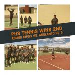 PHS Tennis Beats Adelanto in 2nd round CIFSS Playoffs 13-5