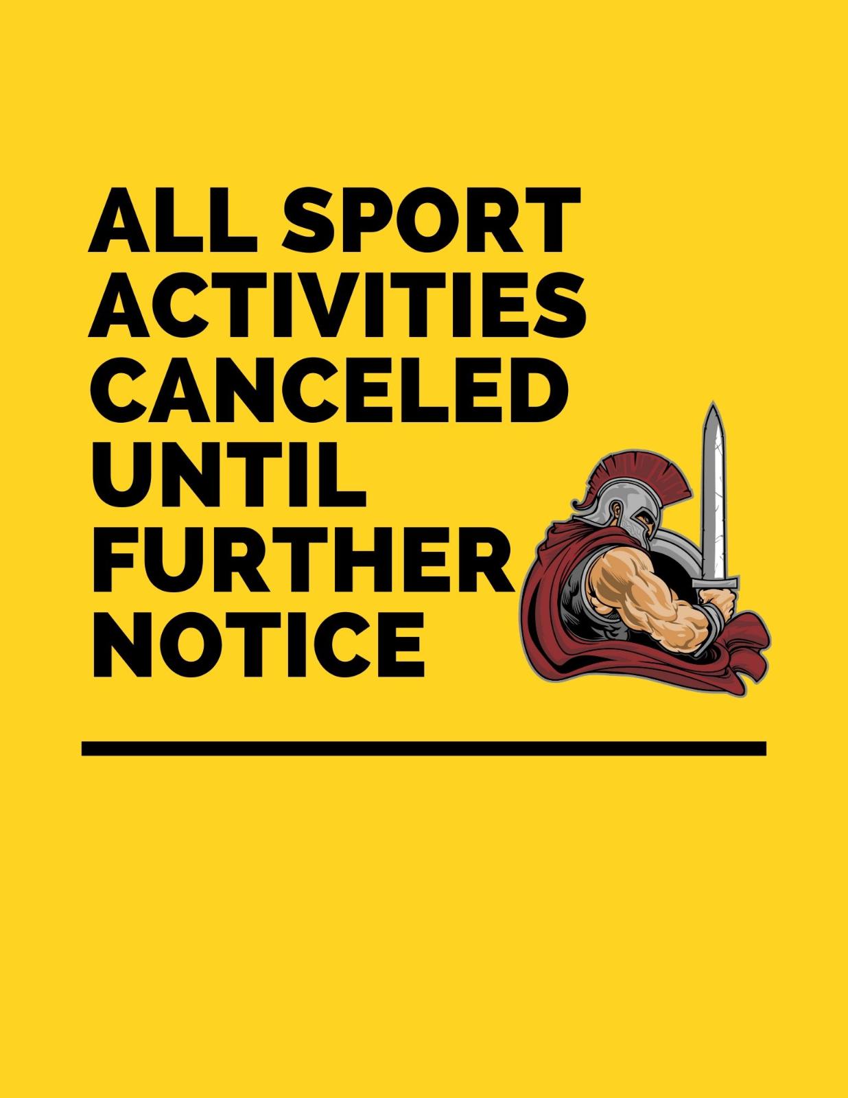 No Sport Activities