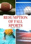 Resumption of Athletic Activites
