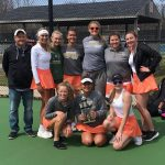Girls Varsity Tennis finishes 1st place at Jimtown Invite