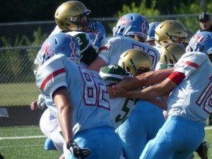 JV Football vs. Lakeland