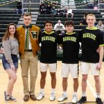 Boys' Basketball/Cheer Senior Night