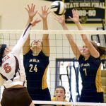 Sept. 3 Tri-Valley Volleyball Falls to Meadowbrook