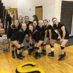 Volleyball gets a Win on Senior Day