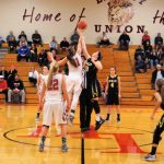 Tri-Valley High School Girls Varsity Basketball falls to Liberty Union High School 49-32