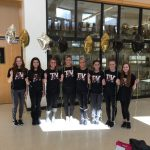 Gymnastics Team 9th at State