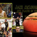 Jake McLoughlin named MVL Player of the Year