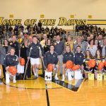 Boys Basketball Celebrates Seniors