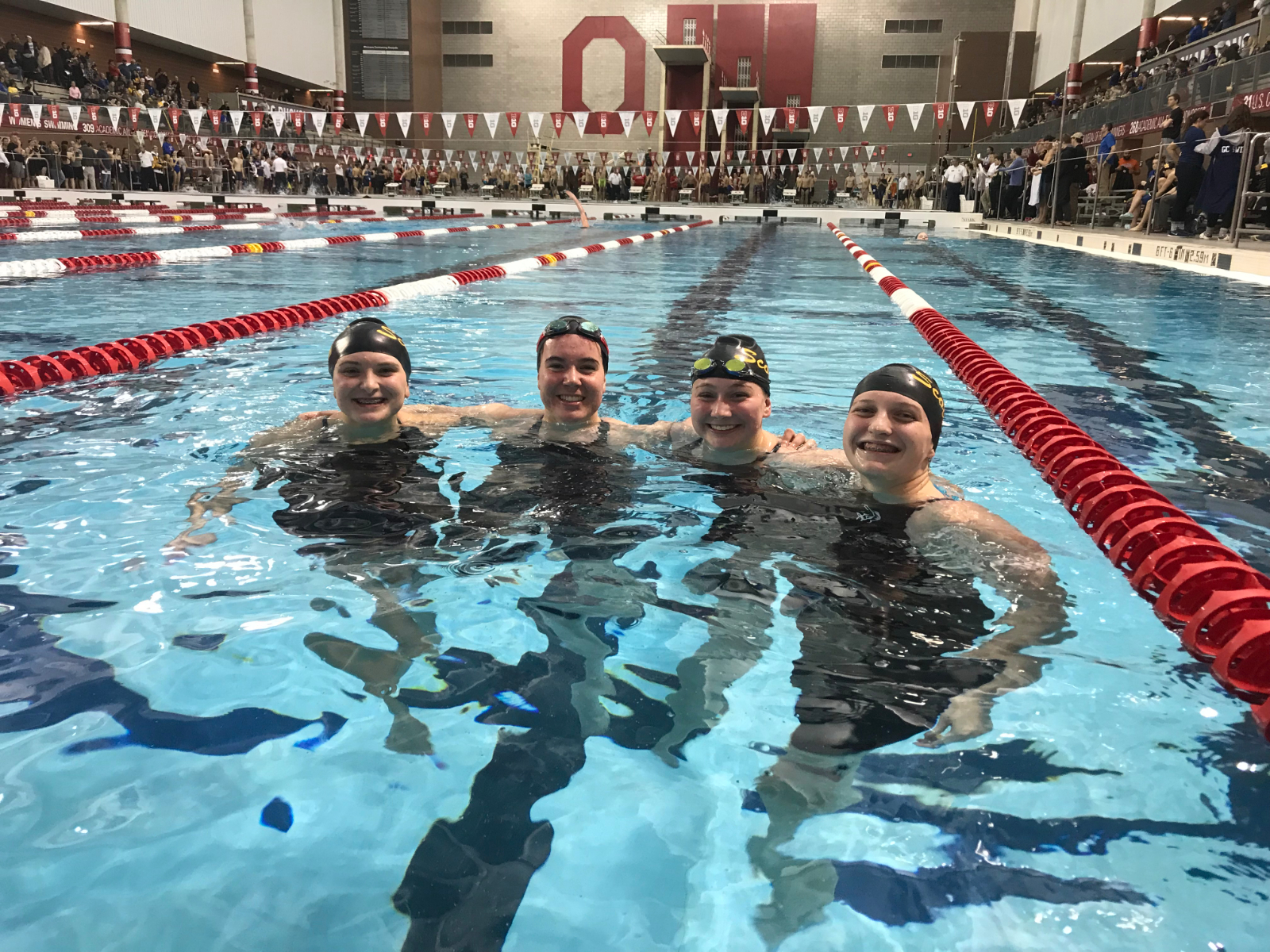Tri-Valley swimmers compete (well) at prestigious Neb Reed Memorial Invite; TV's Caroline Holmes sets pair of school pool records