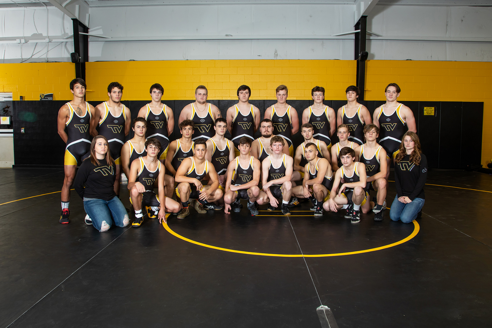 Tri-Valley wrestling hosts annual Big Dawg Invitational Saturday, Dec. 15 at TVHS; 24 teams to utilize both gyms at TV; doors open at 9:00 am