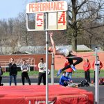 Scottie track and field teams compete at Dover Tornado Invitational; TV's Riley Tracy ties 28-year old school mark in high jump