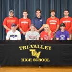 Nine Scottie senior student-athletes recognized at TVHS College Signing Night