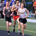 Scottie boys and girls track and field teams have strong showings at annual MVL Track Meet; boys finish one point out of runnerup spot; girls earn fifth place