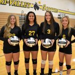 Lady Dawg volleyball back on winning track with West Muskingum win