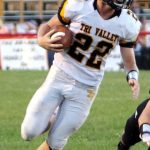 Tri-Valley's Blake Sands' school record 7 touchdowns pace Scotties to 73-24 win over New Lex;  It's TV vs Sheridan Friday, October 11 in Thornville