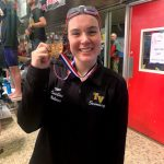 Tri-Valley senior Caroline Holmes caps outstanding prep swim career with All-Ohio performance at OHSAA State Meet
