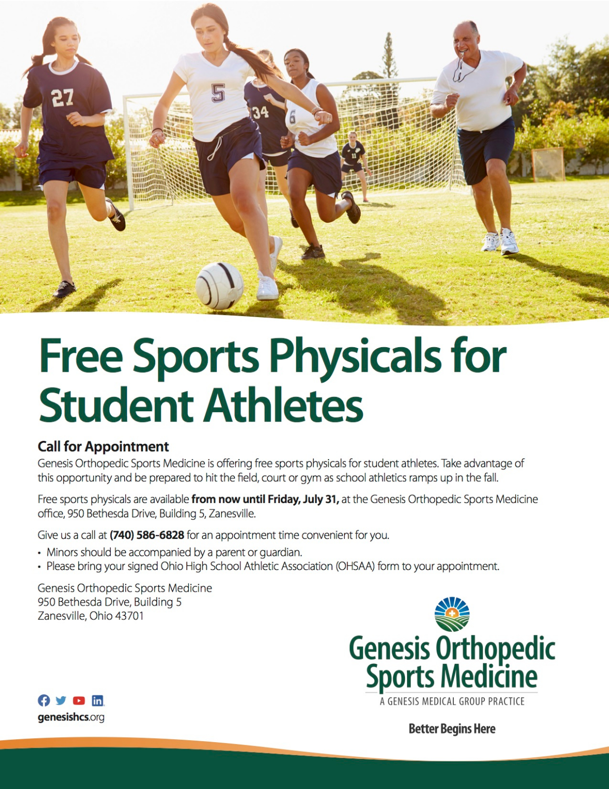 2020-2021 Free Sports Physicals
