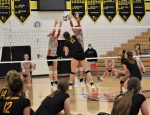 Lady Dawgs drop hard-fought volleyball battle to MVL leading Sheridan