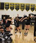 Lady Dawgs earn third straight volleyball win with Philo victory; welcome John Glenn to The Dawg House on Thursday, Oct. 8