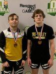 TV seniors Joseph Eckelberry, Cullen Van Rooyen earn All-Ohio honors at OHSAA State Wrestling Tournament