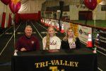 Tri-Valley senior standout student-athlete Claire Martin headed to Walsh University