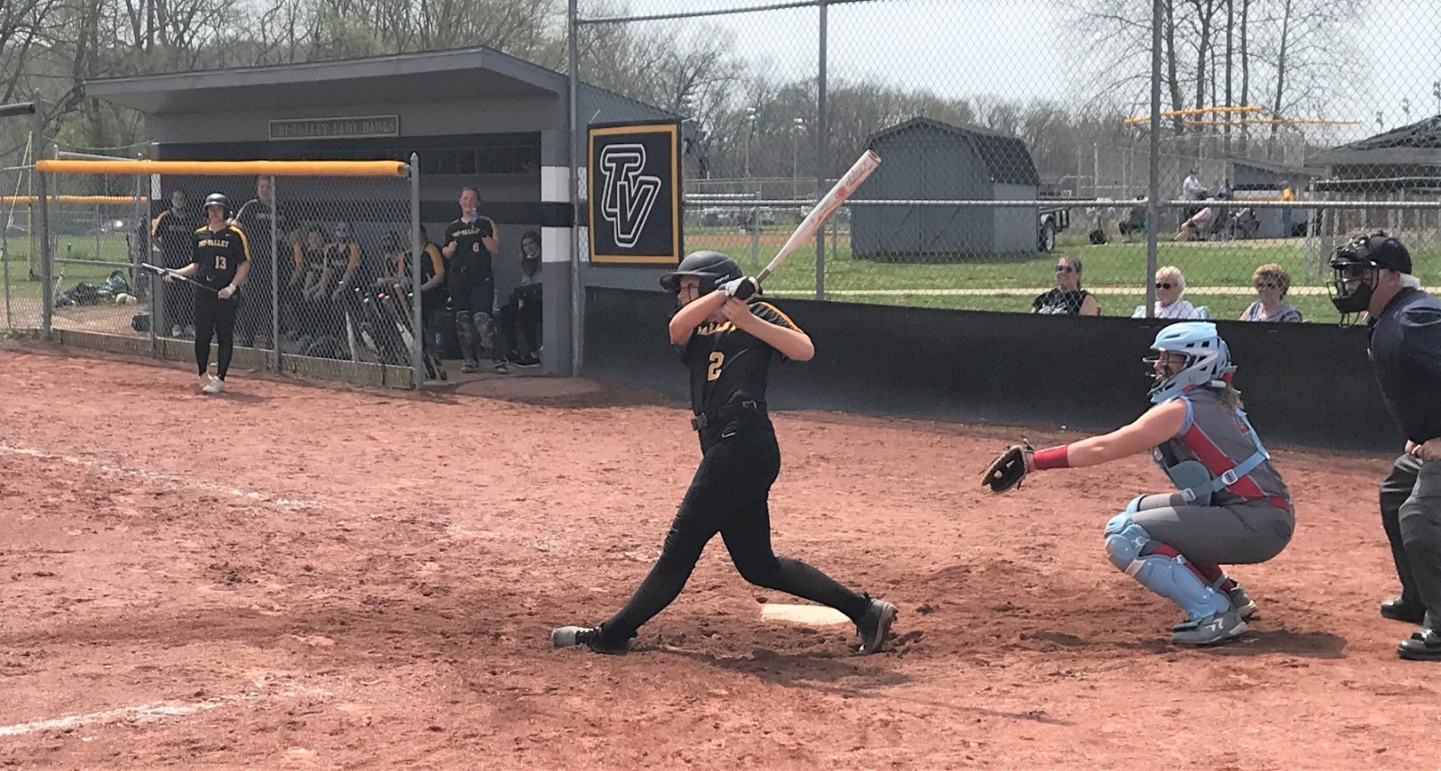 Lady Dawgs use long ball for Wolford Park doubleheader sweep of Garaway; TV travels to Maysville Monday, April 12