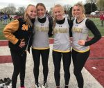 TVHS track and field competes at Dover Invitational