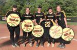 TV Lady Dawg softball on a roll with strong regular season finish and big post season opening win; Tri-Valley faces Claymont Monday, May 17 in 2nd round OHSAA tourney action at Buckeye Trail HS site