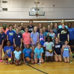 SHS Volleyball Holds Camp