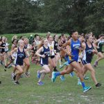 Cross Country Competes at Wayne County