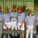 Boys Golf Finishes 2nd at Golden Isles