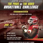 Houston to Host Celebrity Basketball Night