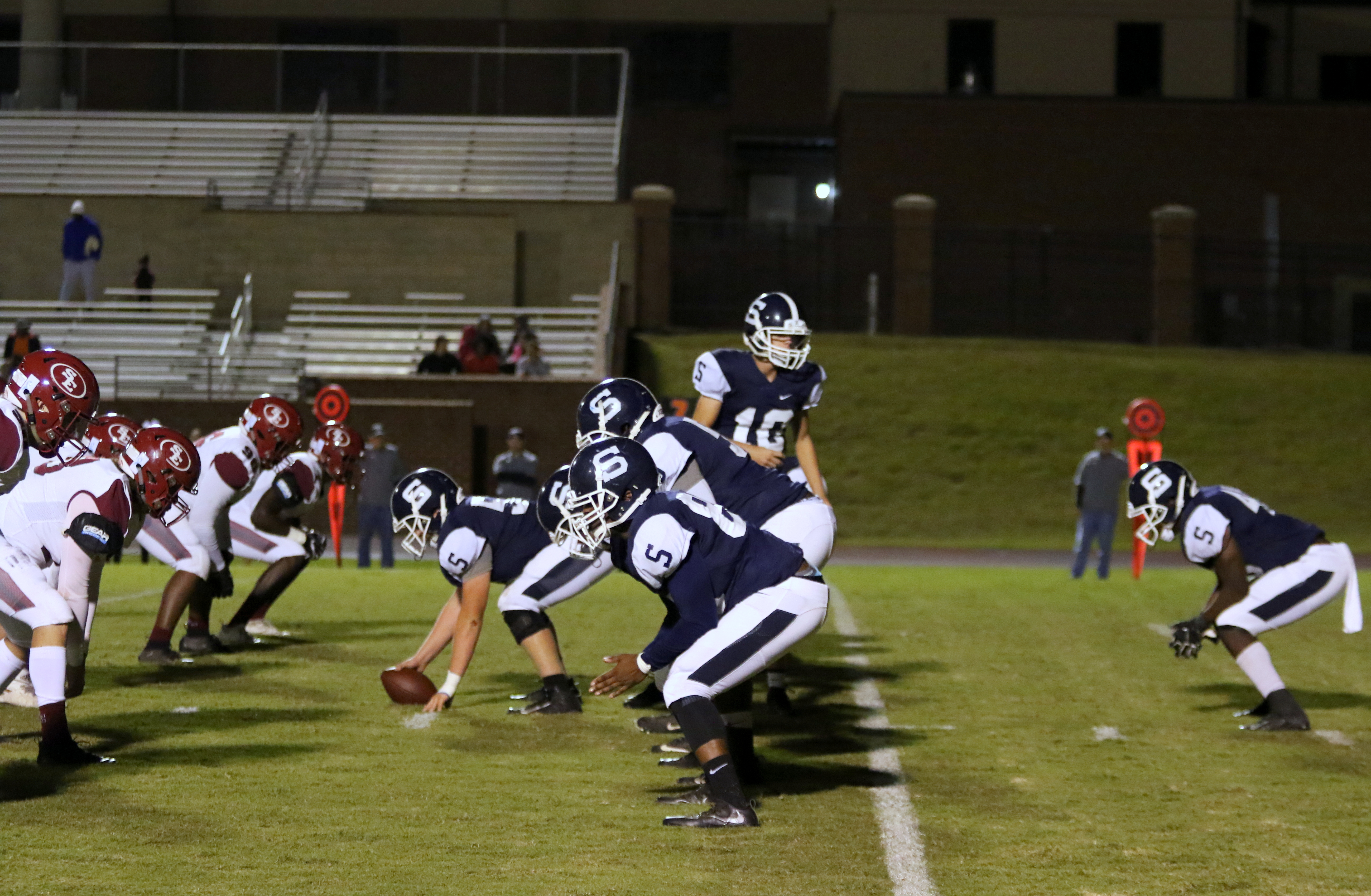 Football State Playoffs begin for the Devils