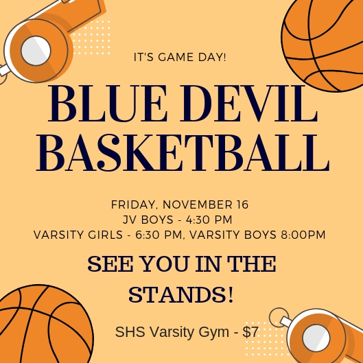 First Home Basketball Game – See you in the stands!