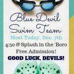 Swim Meet Today!