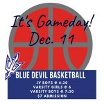 Dec. 11 Home Basketball