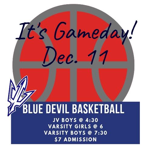 Dec. 11 Home Basketball