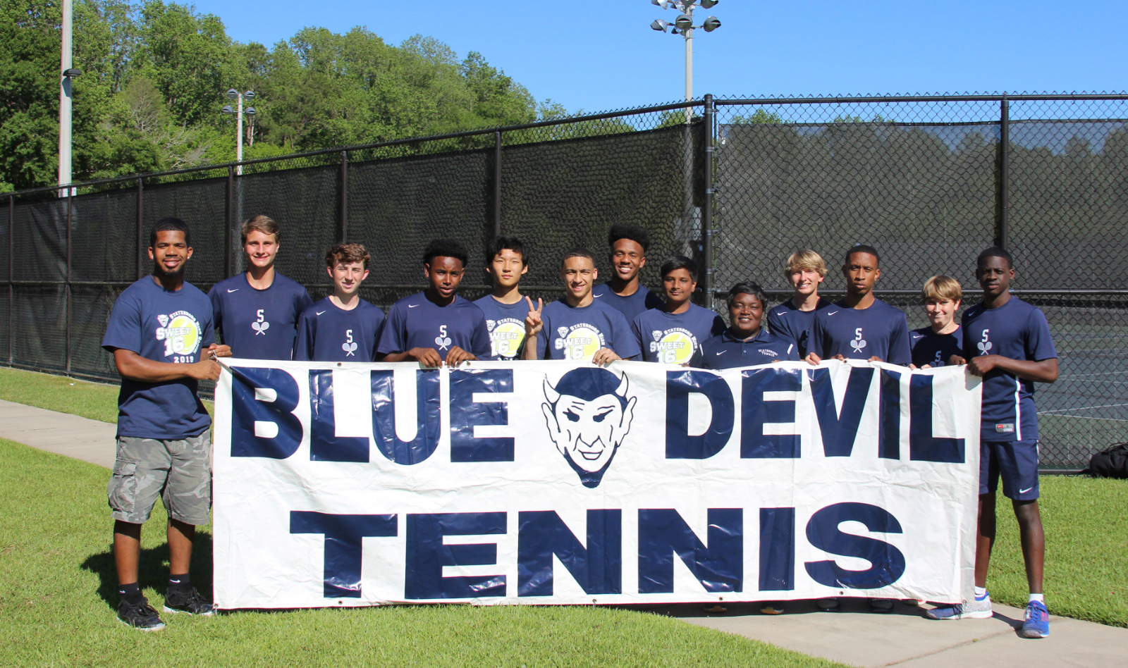 Tennis vs. Thomas County Central – State Playoff Action