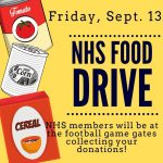 Friday Football Food Drive