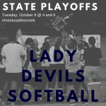 Softball State Playoffs begin Today!
