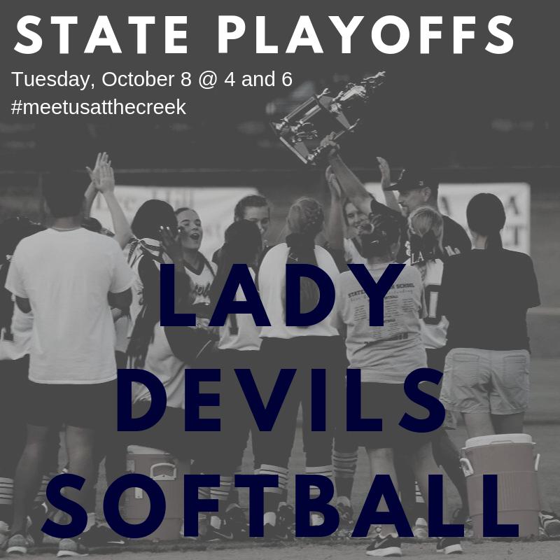 Softball State Playoffs begin Today!